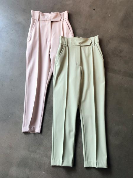 【19AW】HIGHRISE CREASE PANTS