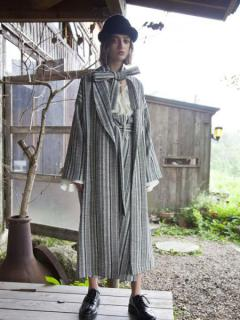 【SALE】STRIPE SAFARI GOWN