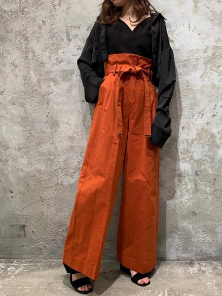 【SALE】MILITARY WIDE PANTS