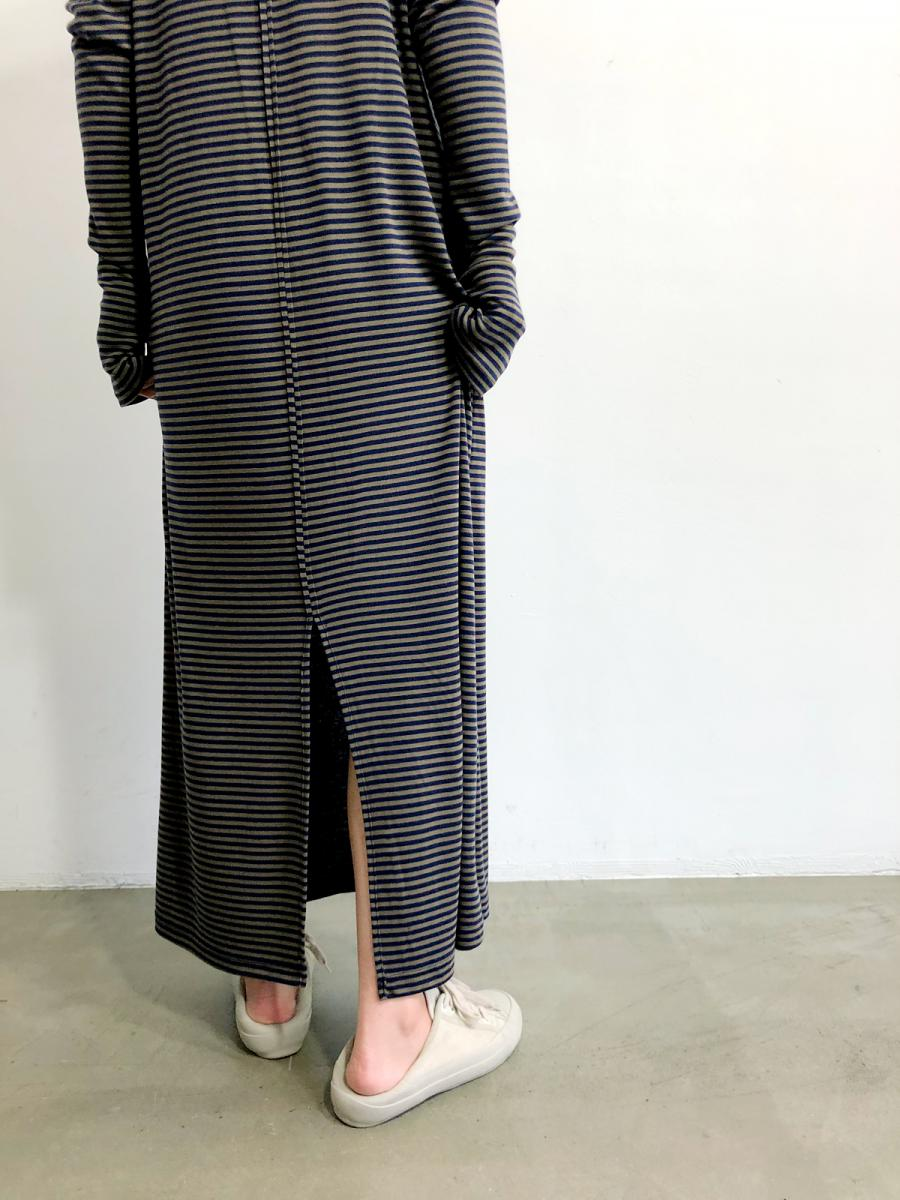 【20SS】90'S BORDER LONG DRESS
