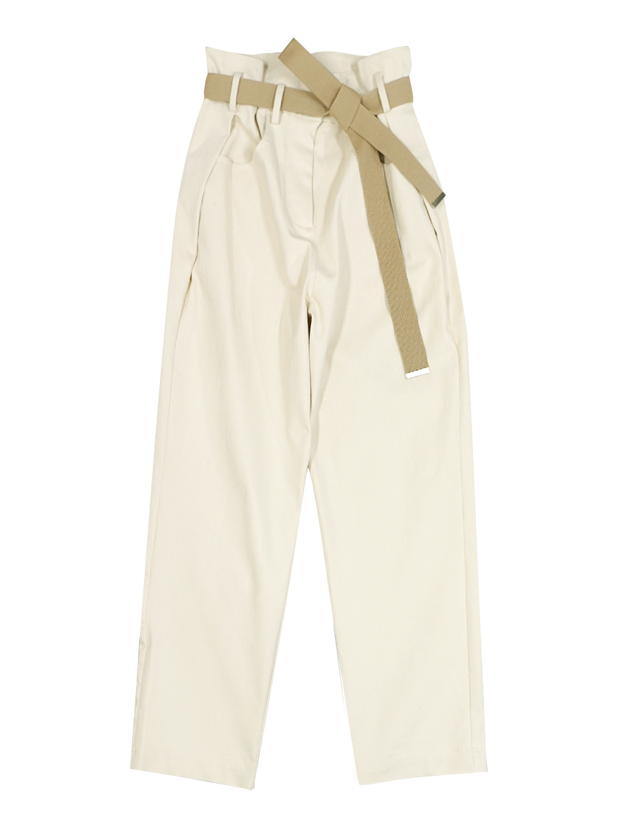 FUN WORK PANTS WITH BELT