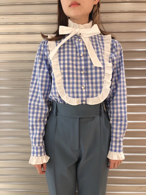 Giggle Gingham Bow Blouse