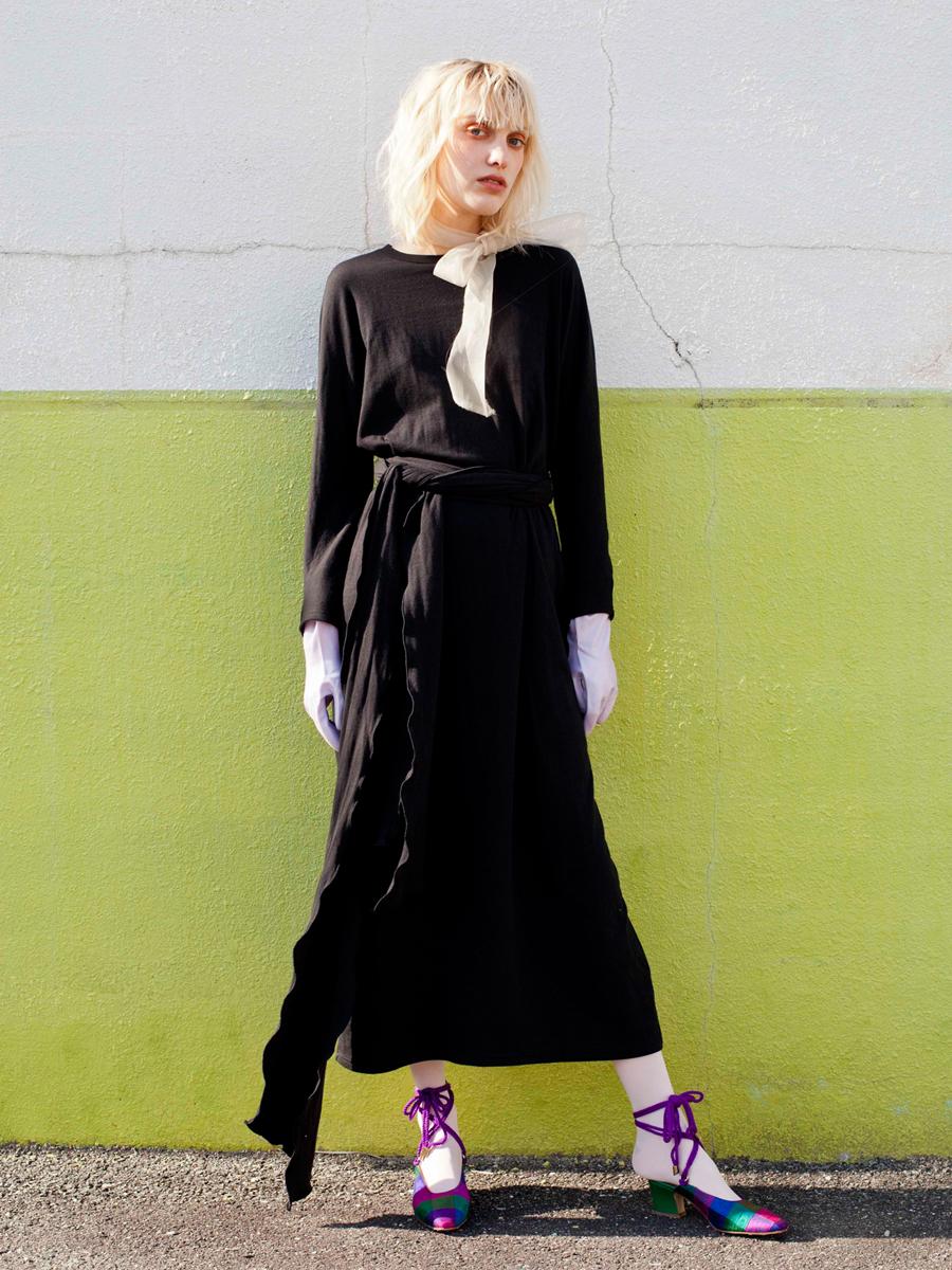 GYPSY CUT-SEWN DRESS