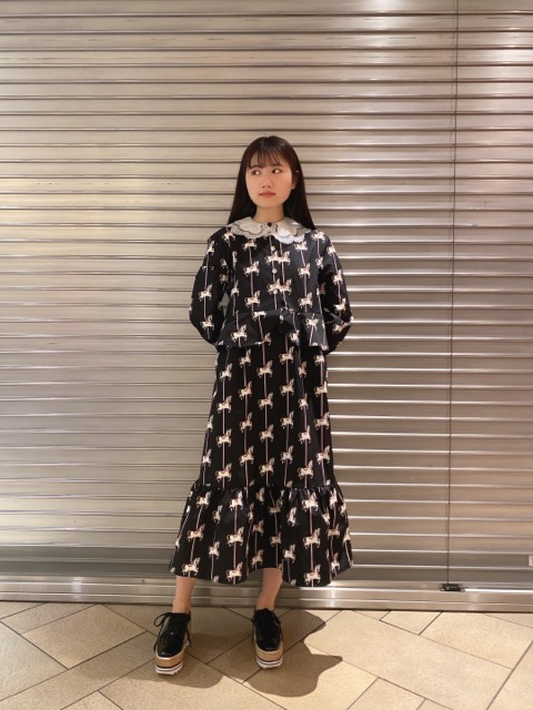 Carousel Midi Dress