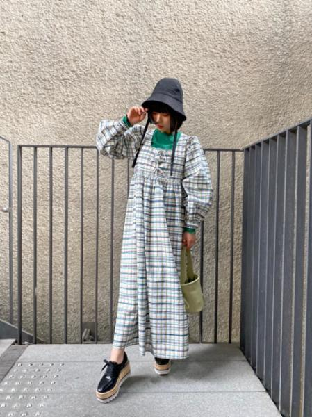 Shortcut Check Midi Dress