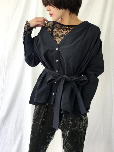 2WAY LADY BLOUSE