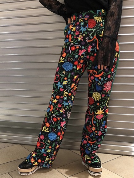 Catrina Bloom Print Pants