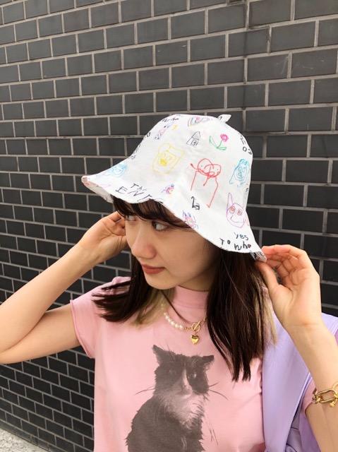TULIP HAT(BUBU柄)