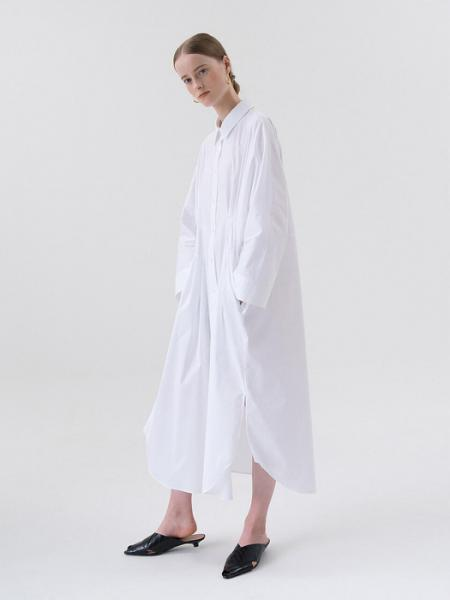 【MORE SALE】COCOON SHIRT DRESS