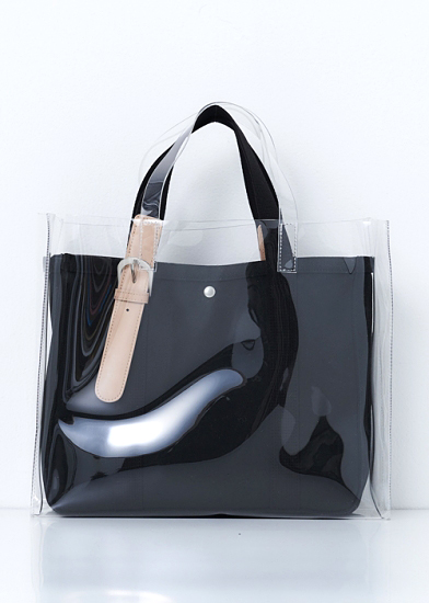 PVC duo tote(large)