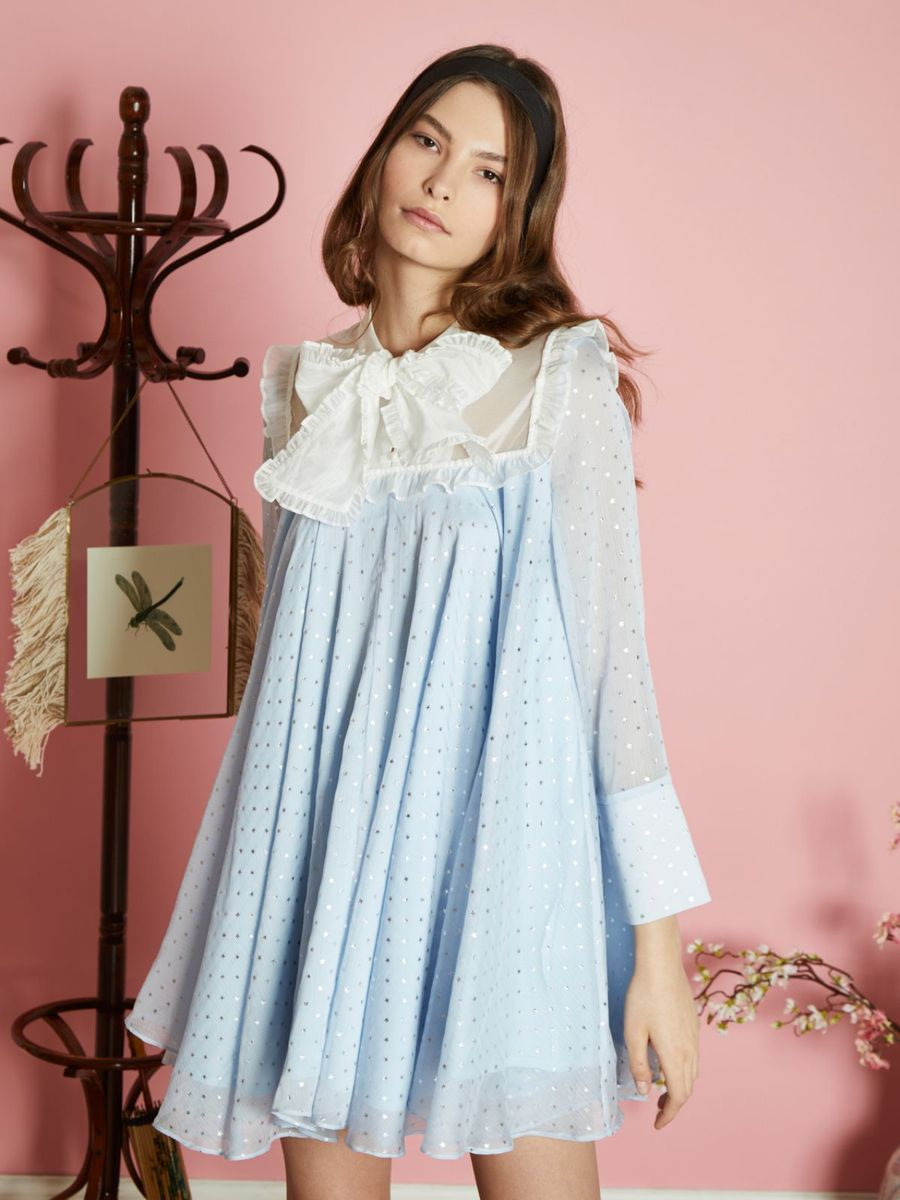 Hum Hush Regina Dress (BLUE)