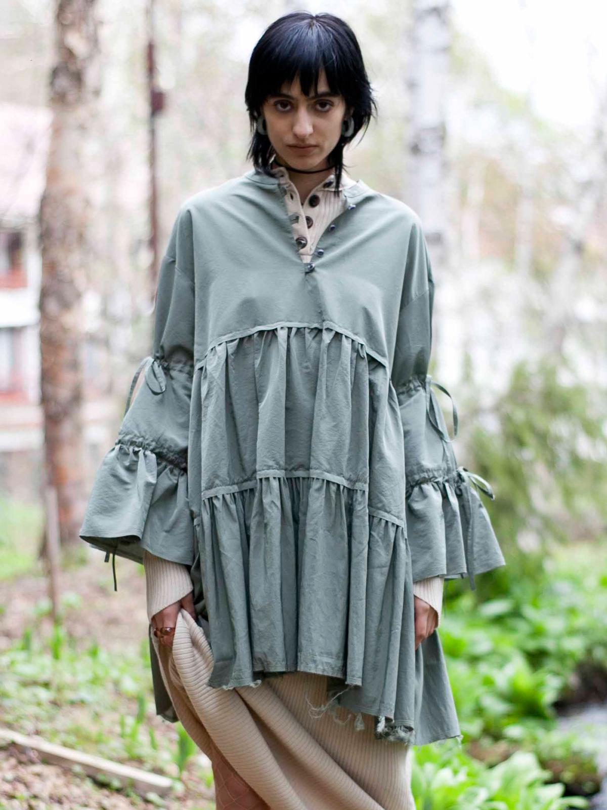 GRIM FRILL DRESS