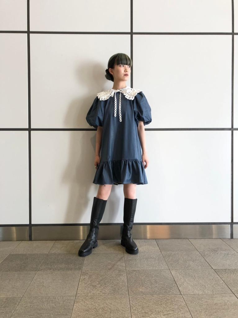 Queen Collar Mini Dress