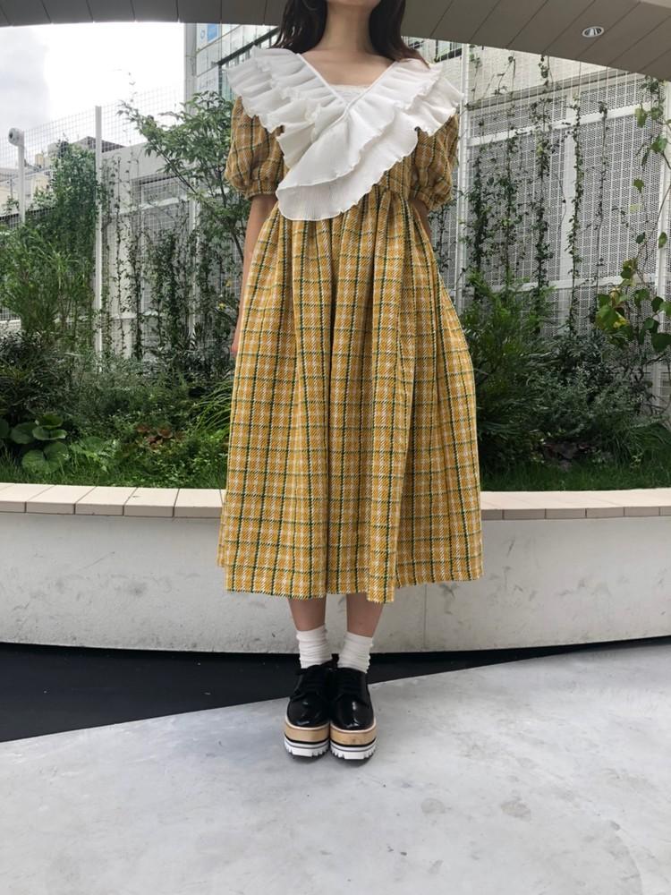 【20AW】Sister's Tweed Midi Wrap Dres【9/6 17:00~ 発売】