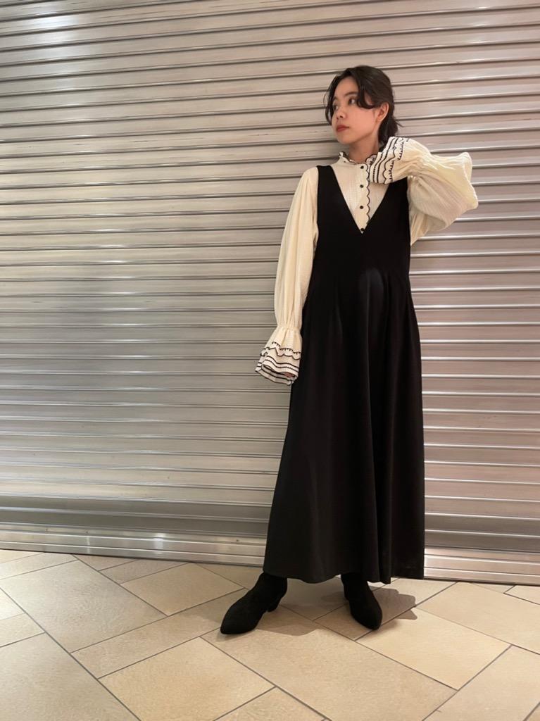WAIST RIBBON DRESS