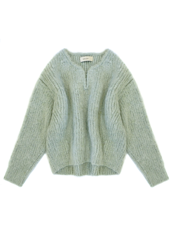 FLOATING MOHAIR KNIT