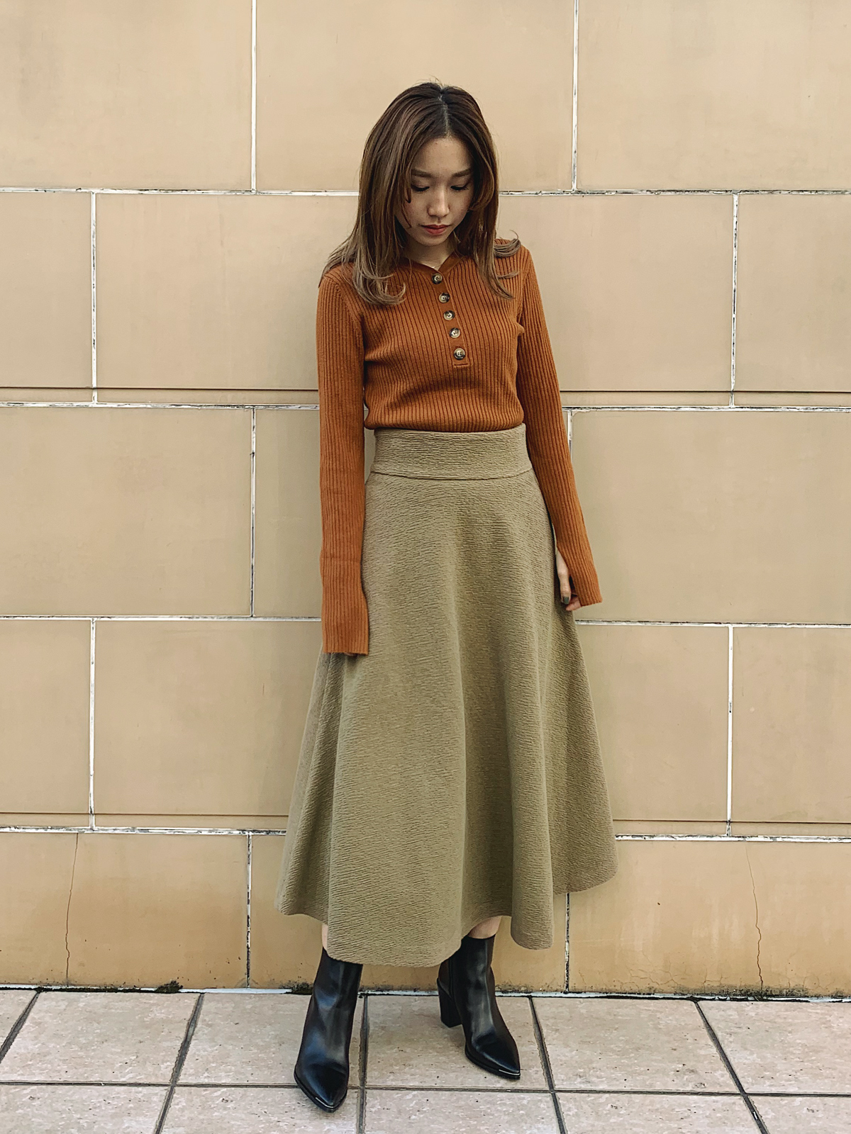 【WINTER SALE】LADY FLARE SKIRT