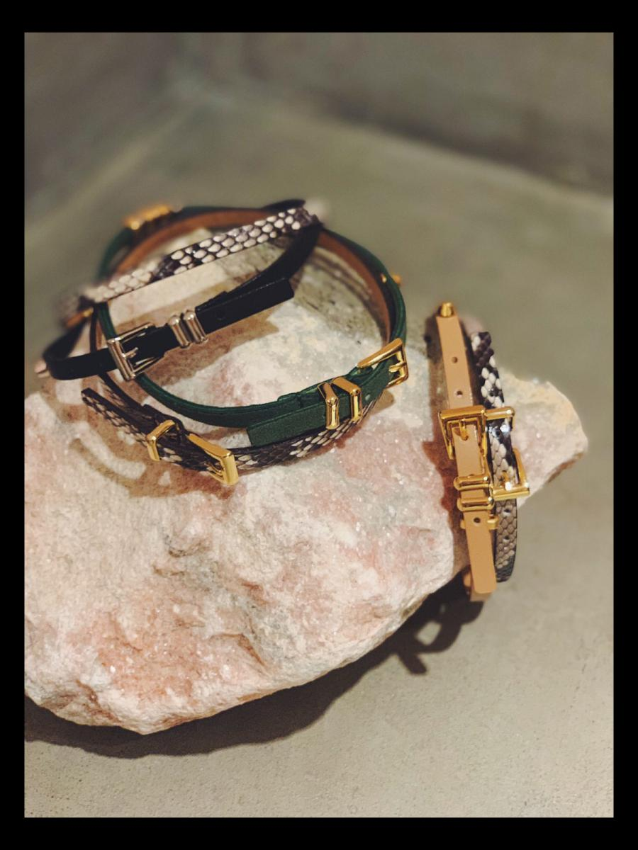 【CLEOPATRA fig LIMITED ITEM】PYTHON DOUBLE CHOKER