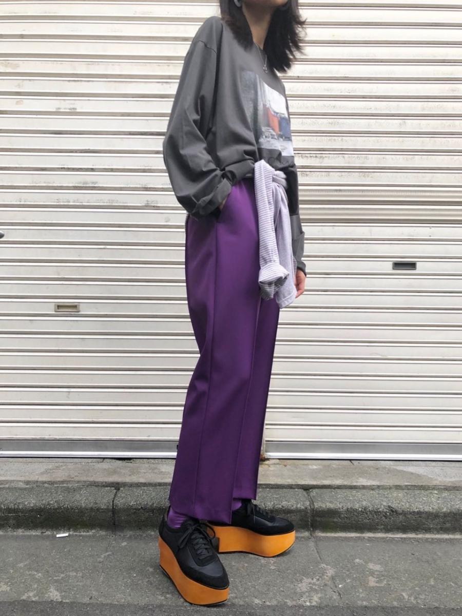 HIGHRISE CREASE PANTS